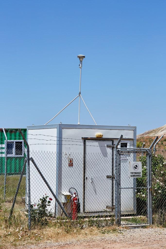 Meteorology station at Kisladag mine site