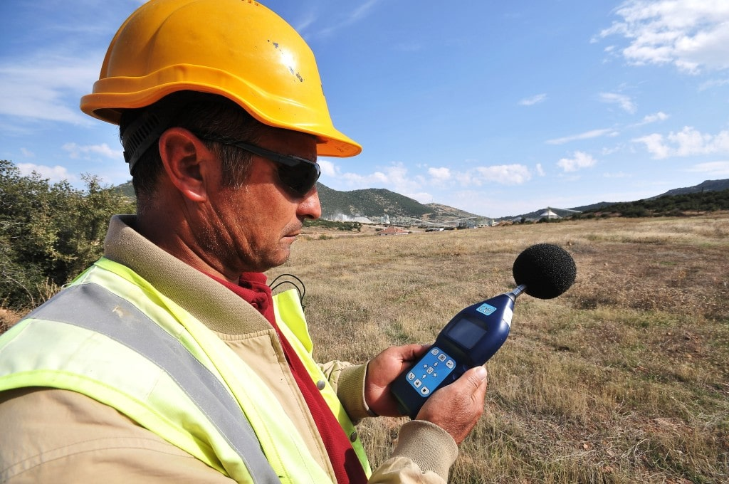 Noise sampling at Kisladag mine site