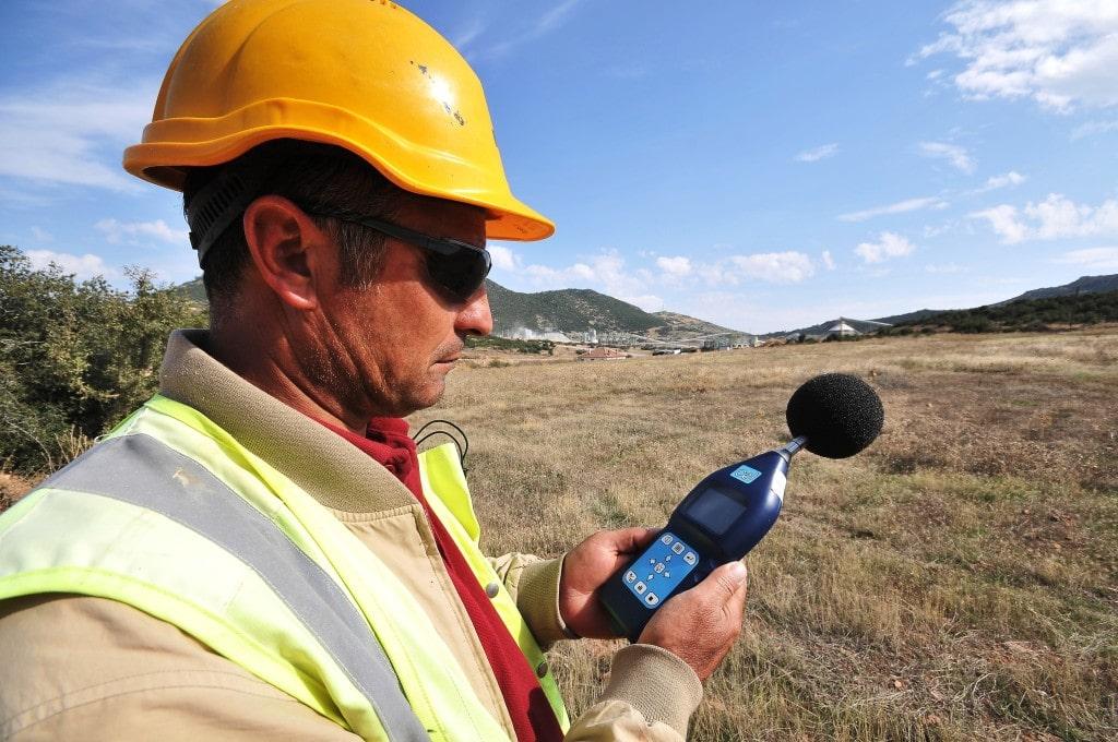 Noise sampling at Kisladag mine site