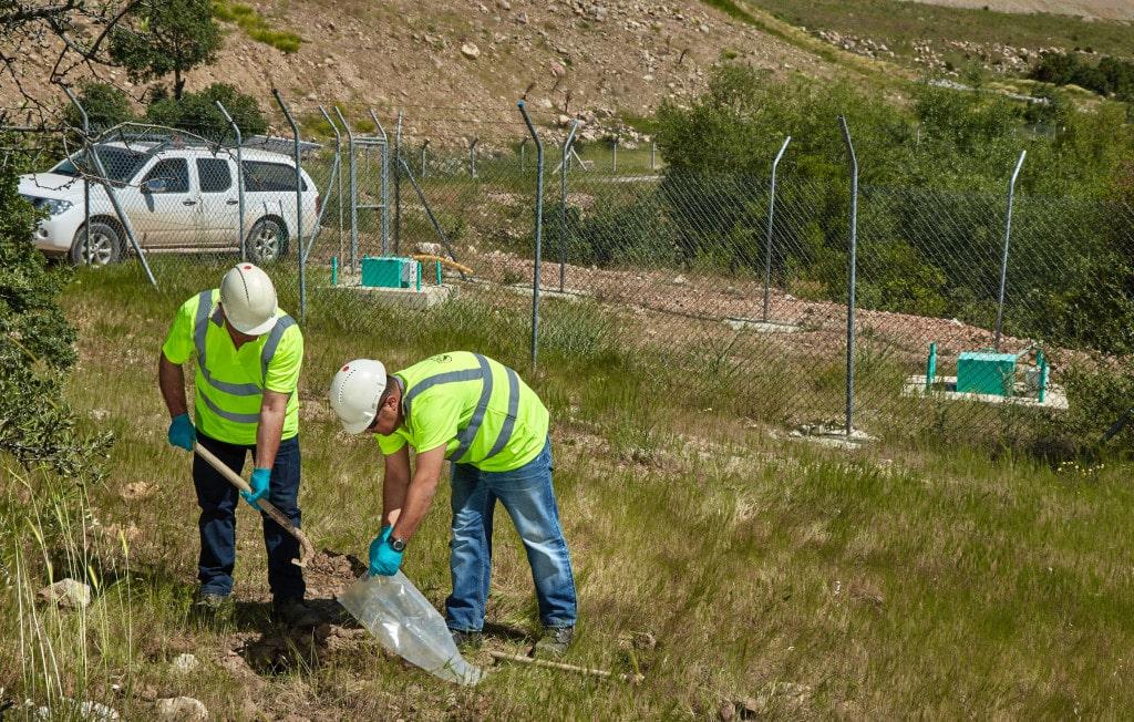 Kisladag soil sampling
