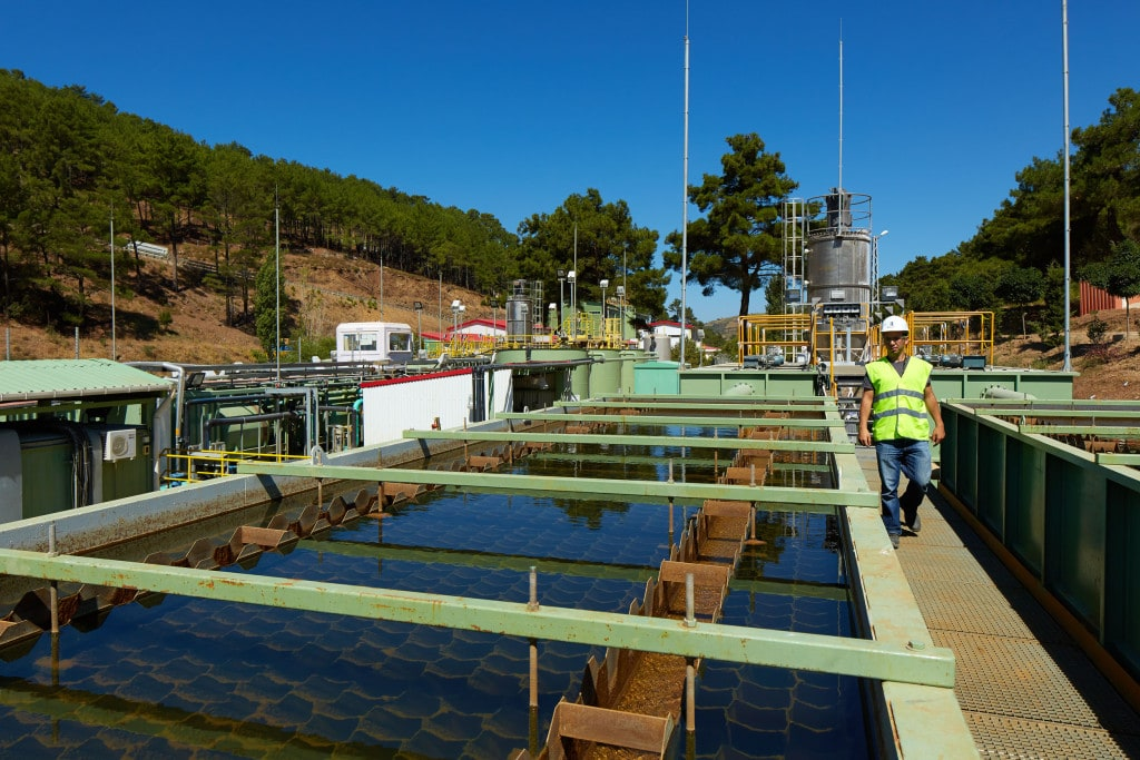 Water treatment plant at Efemcukuru