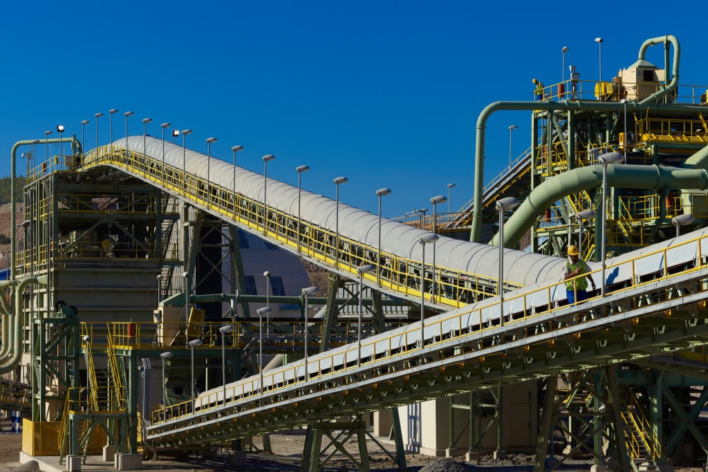 covered conveyors