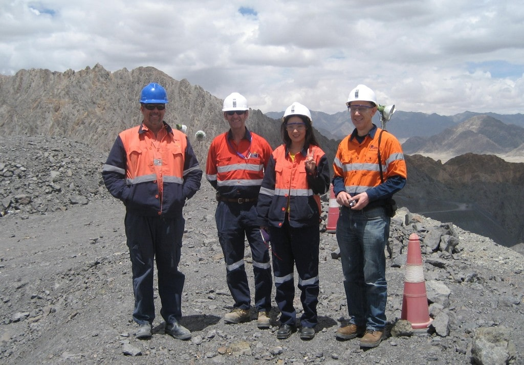 Our team at Tanjianshan during the ICMC audit last June