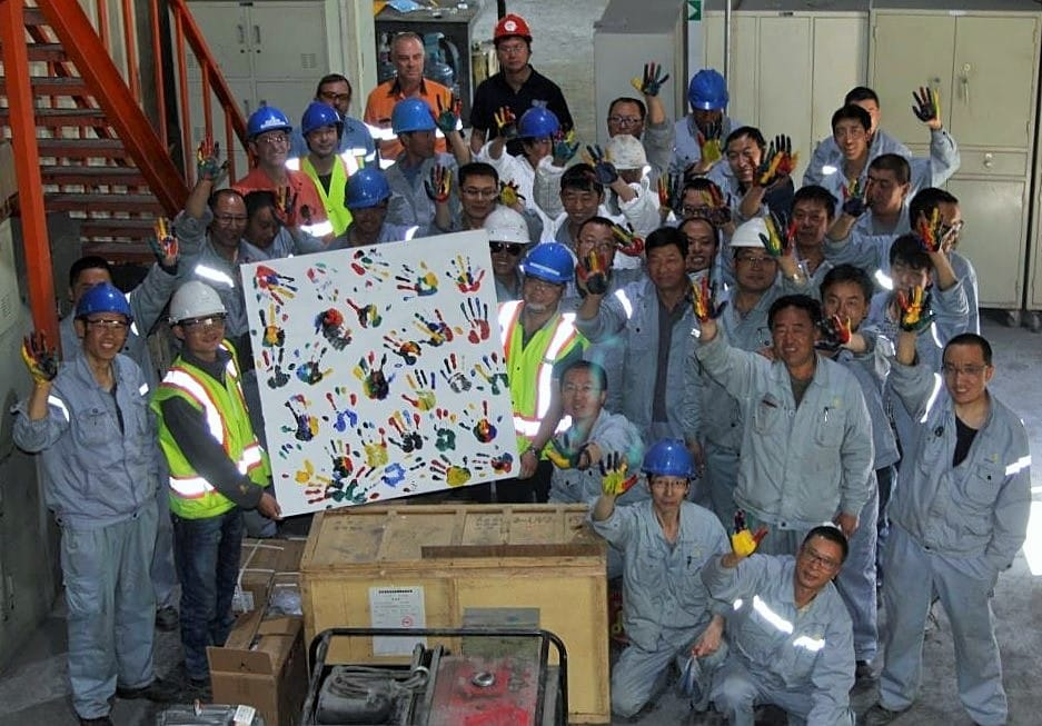 Hands Up safety initiative group