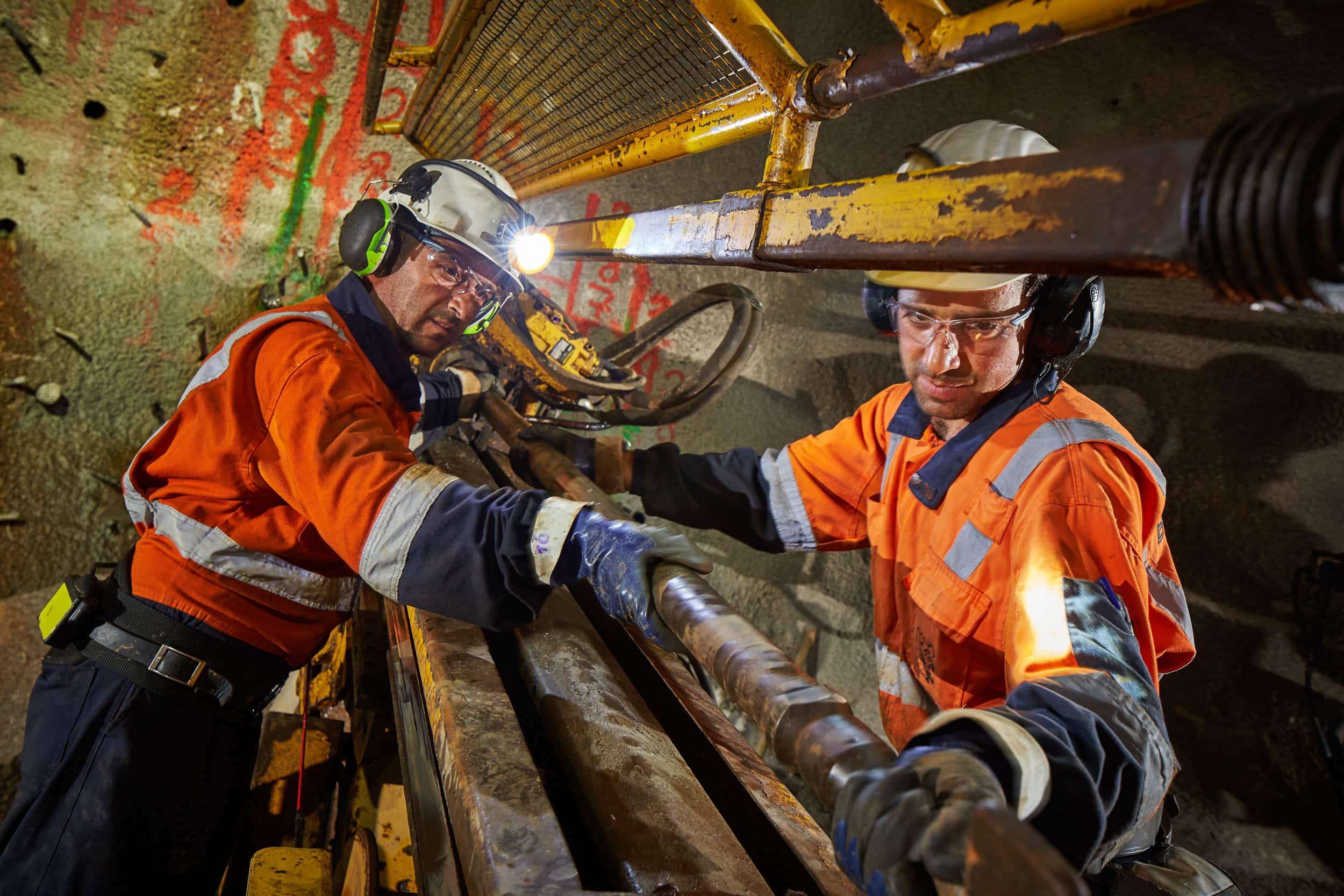 Working together underground at Efemcukuru