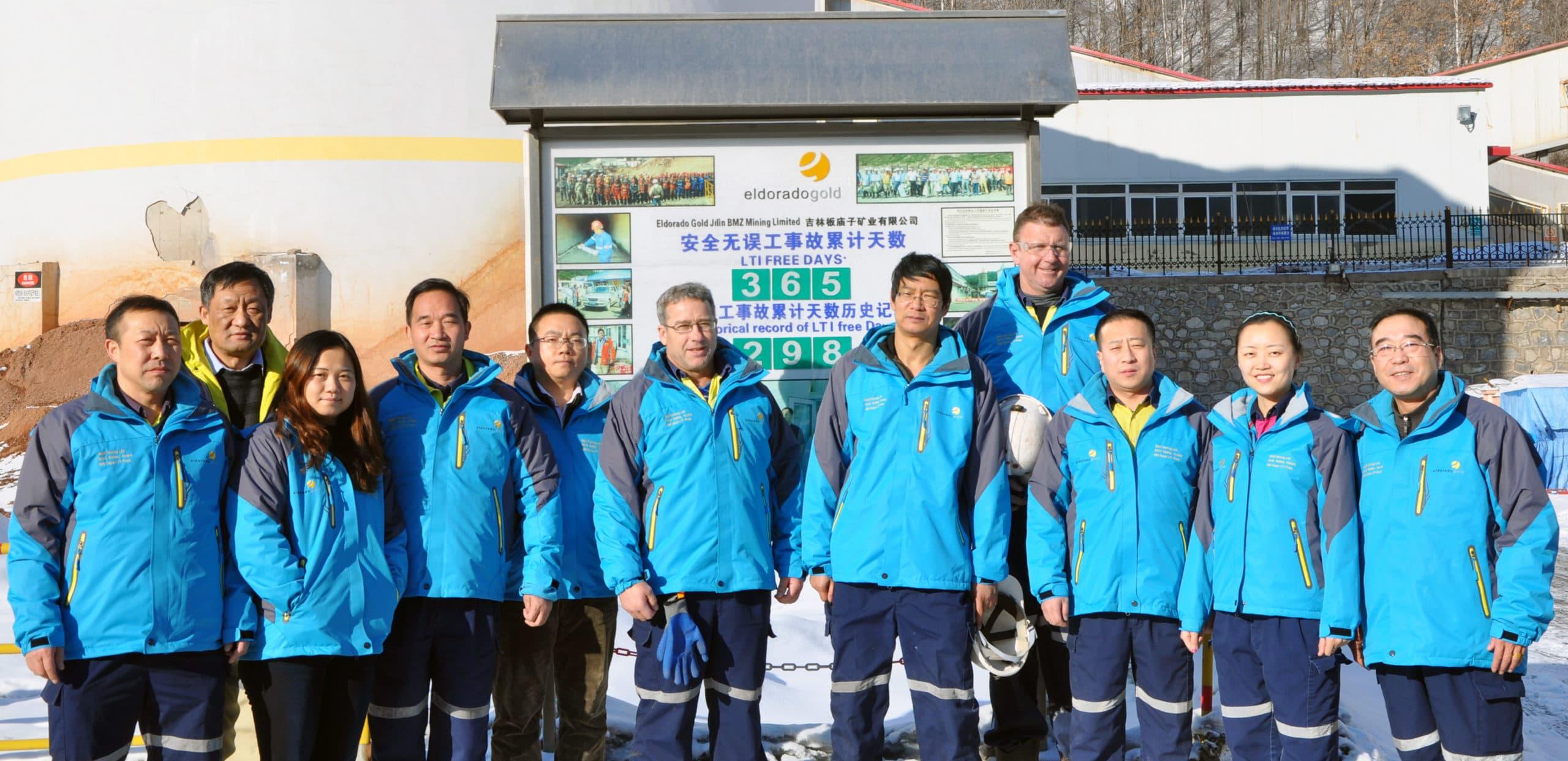 White Mountain Health & Safety team
