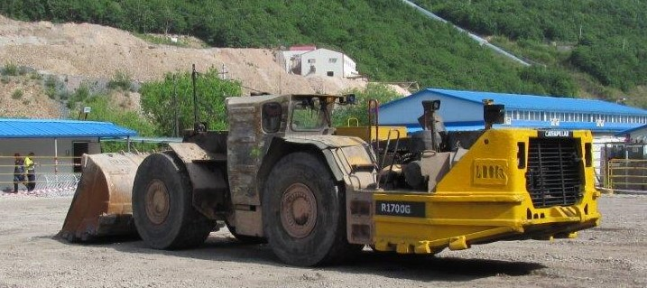 A remote controlled loader