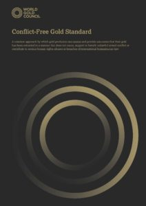 Conflict Free Gold Standard - World Gold Council