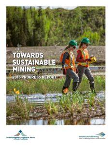 TSM Progress Report 2015 - Mining Association of Canada