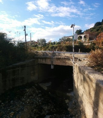 Creek flow monitoring in Halkidiki, Greece