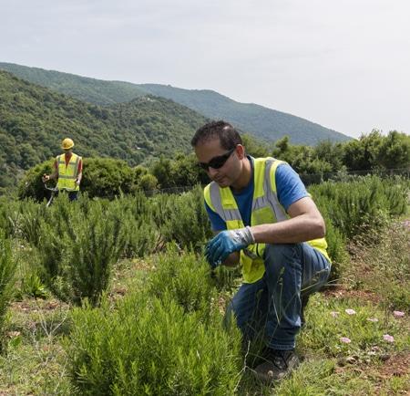 environmental monitoring in Greece
