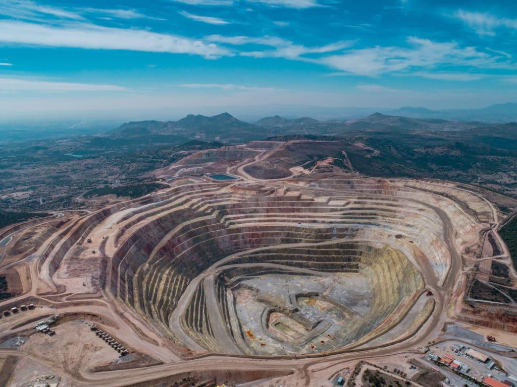 Kışladağ open pit mine