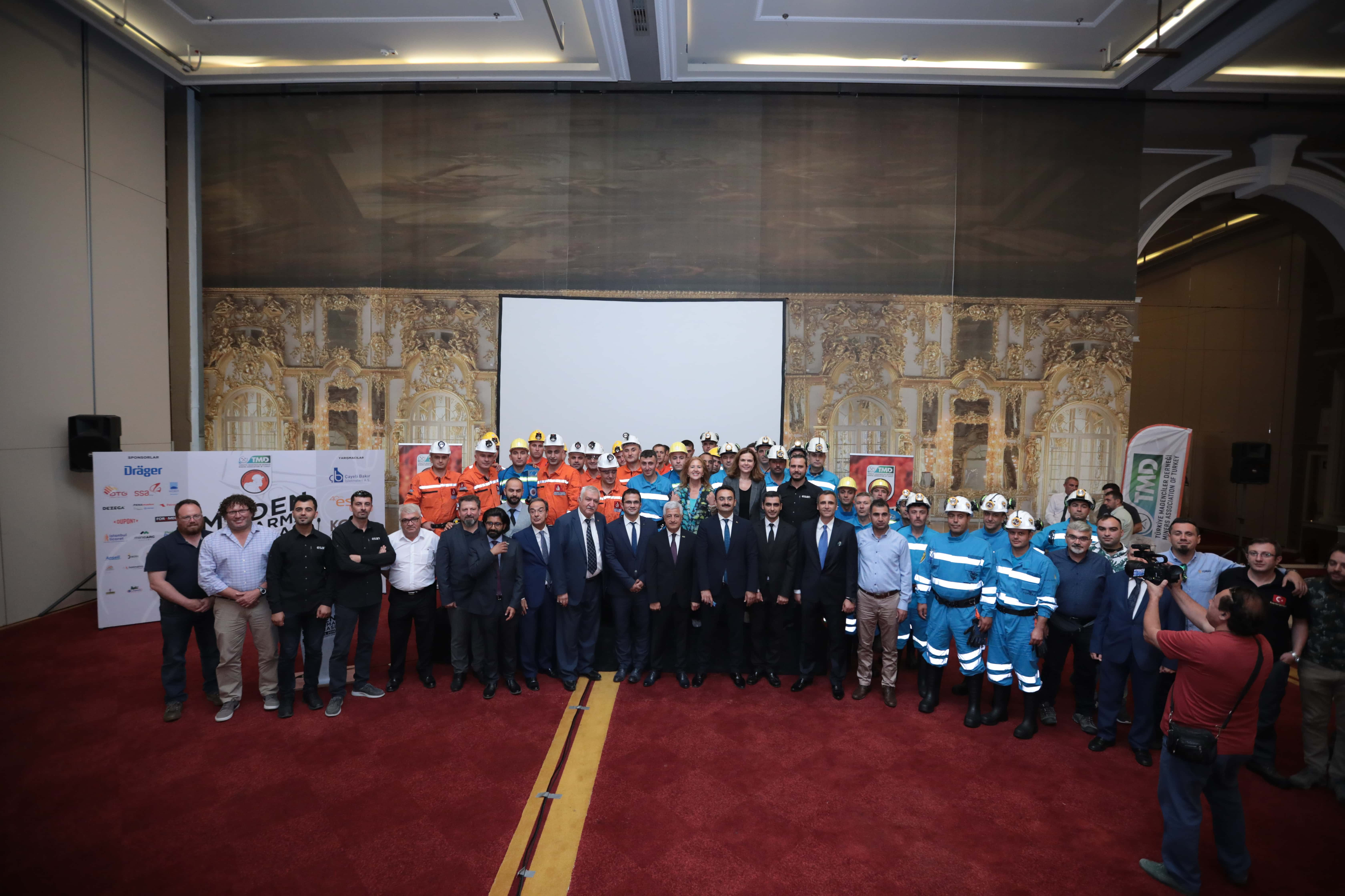 Official Mine Rescue Competition Inauguration Ceremony