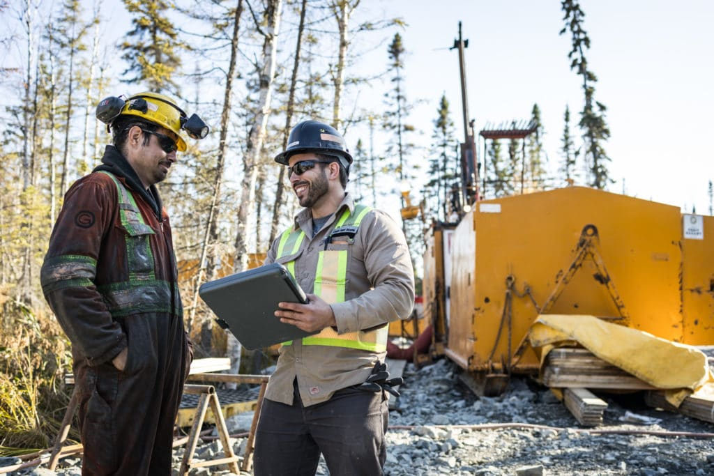 Looking for ways to make  our exploration drilling activities carbon neutral