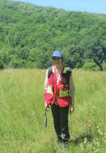 Photo of Janja Mihajlovic in a field